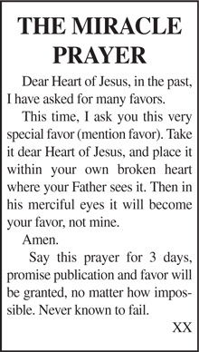 The-Miracle-Prayer | Star News Group